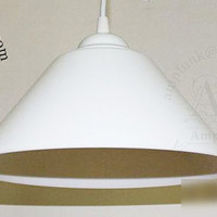 Pendant Light Modern White Ceiling Kitchen Loft Lamp Cafe Reading