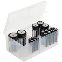 Multi-Battery Storage Box | The Container Store