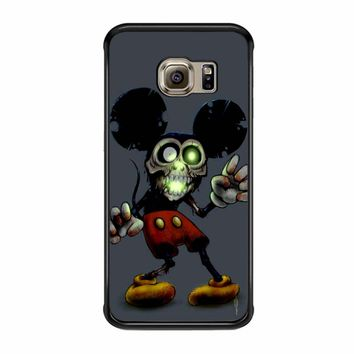 Mickey Mouse Zombie Samsung Galaxy S6 Edge Case