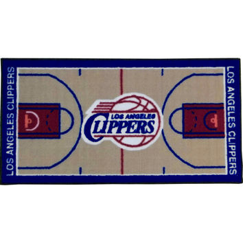 NBA Los Angeles Clippers Rug Basketball Runner Carpet