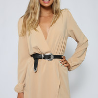 You Bet Dress - Beige