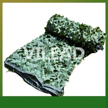 VILEAD 1.5M*6M Green Digital Camouflage Netting Iunio Camo Net Mesh Netting For Hunting Paintball Game Shade Party Decoration