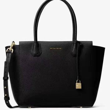MCMAEL KORS Women Shopping Bag Leather Satchel Crossbody Handbag Shoulder Bag Black G