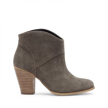 Sole Society Alba Western Slip-On Bootie