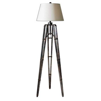 Tustin Tripod Floor Lamp By Uttermost
