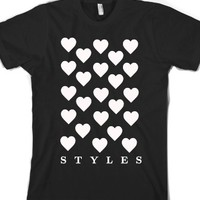 Hearty-Unisex Black T-Shirt