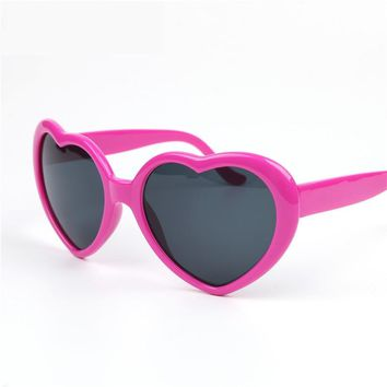 NYWOOH Sexy Heart Shaped Sunglasses Women Luxury Brand Designer Vintage Sun Glasses for Child Lovely Boy Girl Baby Eyewear