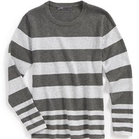 Boy's Vince Stripe Crewneck Sweater,