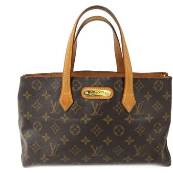 LOUIS VUITTON Wilshire PM handbag M45643 Monogram Brown