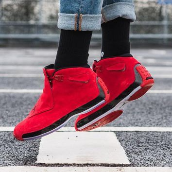 "Air Jordan 18 ""Toro"" AJ18 Basketball Shoes Retro Sneakers - Best Deal Online"