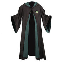 Harry Potter Authentic Replica Adult Slytherin Robe: WBshop.com - The Official Online Store of Warner Bros. Studios