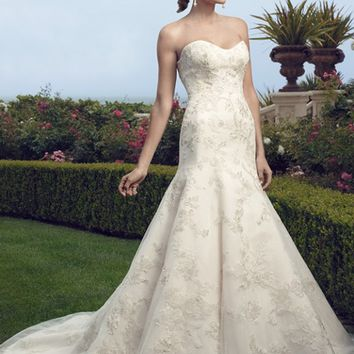 Casablanca Bridal 2159 Fit and Flare Wedding Dress