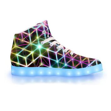 2CB by Sam and Cate Farrand - APP Controlled High Top LED Shoe