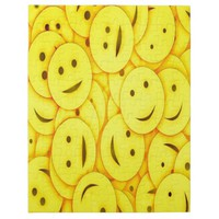 Piles of Yellow Cute Smiley Happy Faces Jigsaw Puzzle