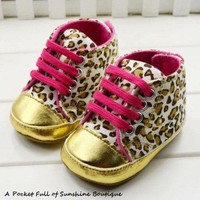 High Fashion Leopard Baby Shoes