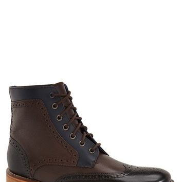 Men's Ted Baker London 'Sealls' Wingtip Boot