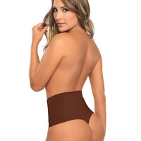 Seamless Women's High Waist Tummy Control Body Shaper Slimmer Briefs Slimming Short Pants Knickers Sexy Thongs