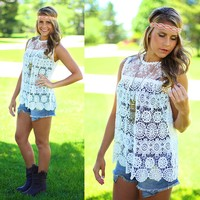 Lace Get Together Top