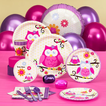 Owl Blossom Baby Shower Standard Pack
