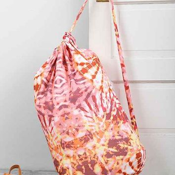 Magical Thinking Cascade Laundry Bag- Red One