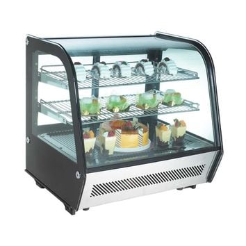 """Commercial Countertop Refrigerated Display Case 28"""""""
