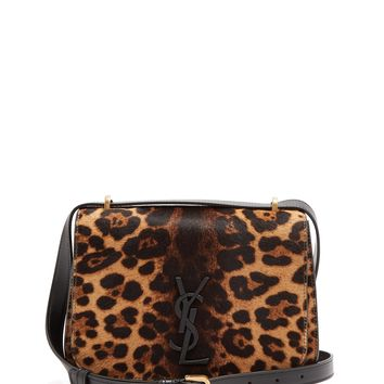 Spontini small leopard-print calf-hair bag | Saint Laurent | MATCHESFASHION.COM UK