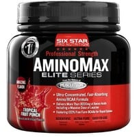 Six Star Pro Nutrition PS Amino Max, Tropical Fruit Punch, 0.6-Pound