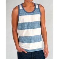 CCS Tank Top Wide Rugby Stripe - Men's at CCS
