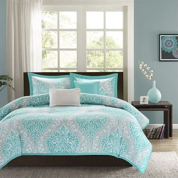 Best Aqua Comforter Set Products on Wanelo