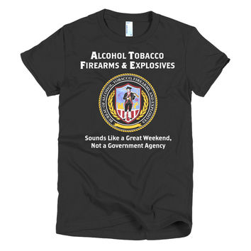 ATF Amazing  Weekends Ladies T-shirt