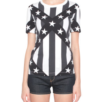 Love Moschino Cotton dress with patches