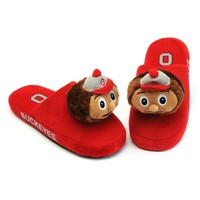Ohio State Buckeyes Slippers - Youth (Red)