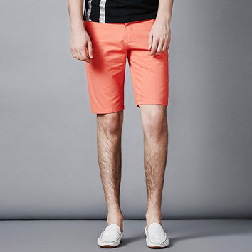 Casual Korean Slim Pants Cotton Men Shorts [6541364099]