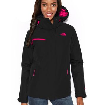 The North Face Hooded Cinnabar Triclimate Waterproof Zip-Up Jacket
