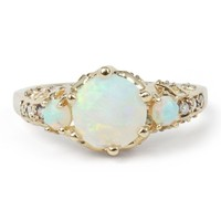 Catbird :: shop by category :: JEWELRY :: Wedding & Engagement :: Ceremonial Ring, Opal