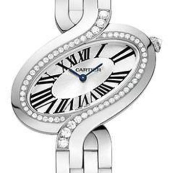 Cartier - Delices de Cartier Large White Gold