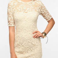 Lace Trompe Loeil Dress