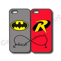 iphone 6 case,iphone 6 plus case,iphone 5s case,samsung galaxy s5,galaxy S4,S3,galaxy S3 mini,S4 mini,S5 mini,S4 active,S5 active,Batman and Robin,Best friends,price for 2pcs in one set