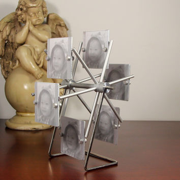 Metal Photo Frame Home Decoration Rack [6542361539]