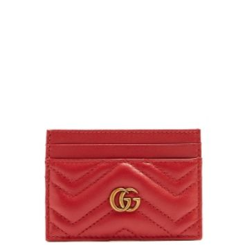 GG Marmont quilted-leather cardholder | Gucci | MATCHESFASHION.COM US