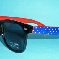 American Flag Wayfarer Sunglasses Glasses USA