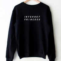 Internet Princess Oversized Sweatshirt