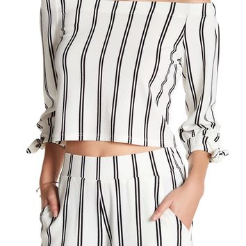 Free Press | 3/4 Sleeve Off-The-Shoulder Blouse | Nordstrom Rack