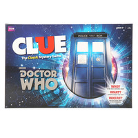 CLUE: Doctor Who Board Game