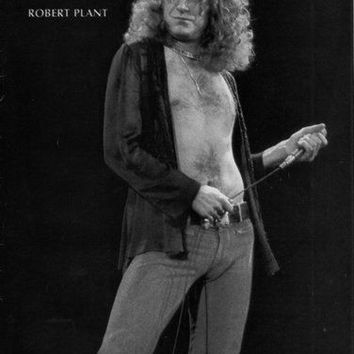 "Robert Plant Poster Black and White Mini Poster 11""x17"""