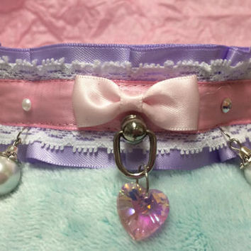 Pearls and Hearts Collar