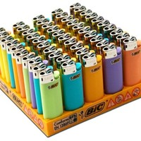 BIC Mini Lighters - Assorted Colors - Sold As 50 Child Resistant Lighters