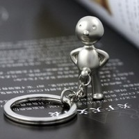 Classic Keychain Creative Mr.p Boy Key Ring Fob Sex Erect Funny Gift