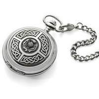 The Celtic Pocket Watch - Hammacher Schlemmer