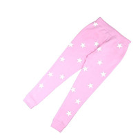 Spring Style Loose Pants Women Printed Star Casual Long Trousers Sweatpants JL861